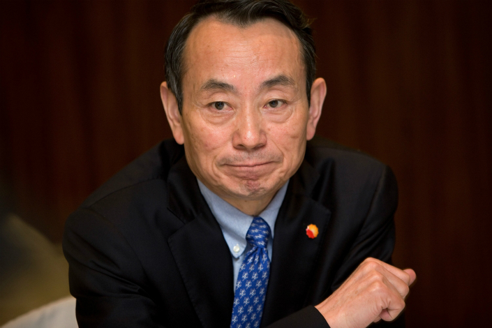 Jiang Jiemin, the former head of China's state asset regulator, was detained in September 2013 while being investigated by the Communist Party's disciplinary authority on suspicion of corruption. It was not until July 2014 that Jiang, then 59, was referred to state prosecutors for criminal investigation. A new draft law would limit such detentions to three months in most cases, and up to six months only in special circumstances. Photo: Visual China