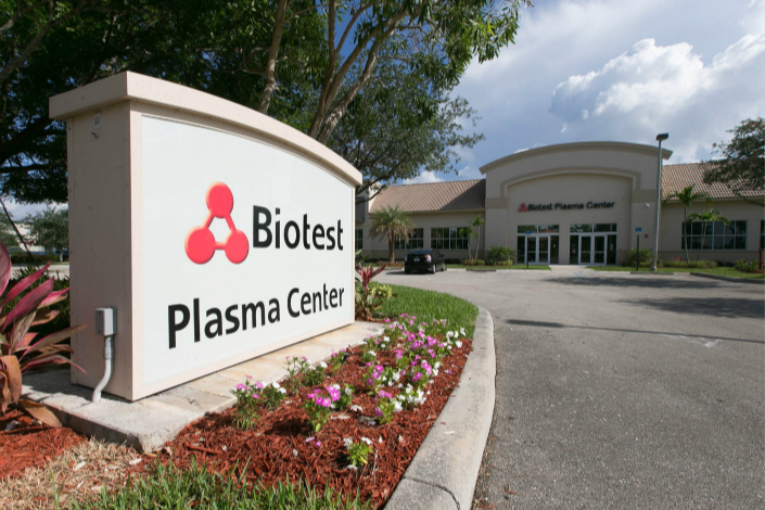 Biotest shares have lost 17% of their value since the start of the month on concerns about the deal, and were trading at 22.67 euros in early Wednesday trade in Frankfurt.Photo: IC