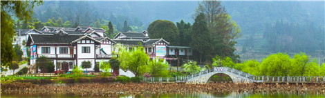 农行支持的美丽乡村建设-贵州湄潭田家沟示范点