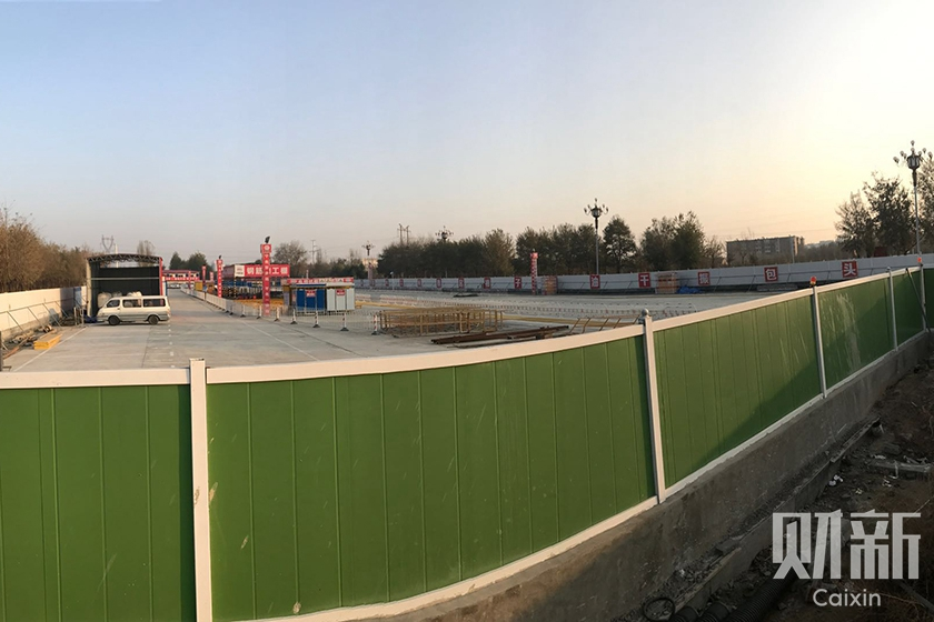 The cancellation of Baotou's subway system (pictured is one of the project's construction sites) has given a signal to city governments around the country that the 'wind has changed' on such projects, an unnamed provincial economic planning official told Caixin. Photo: Sun Lichao/Caixin