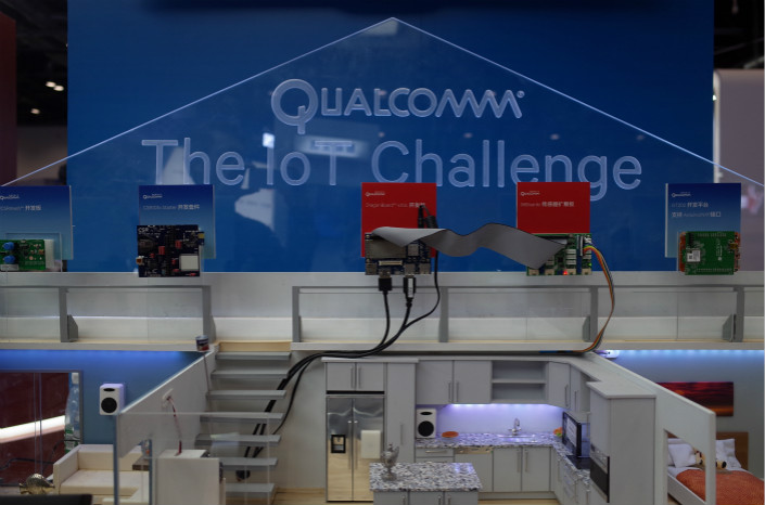 Qualcomm hopes its deal with SenseTime, a Hong Kong AI startup that claims to be the largest of its kind in the world, will allow it to harness the firm's expertise in proprietary AI algorithms – especially facial recognition – to make mobile smart devices. Photo: Visual China