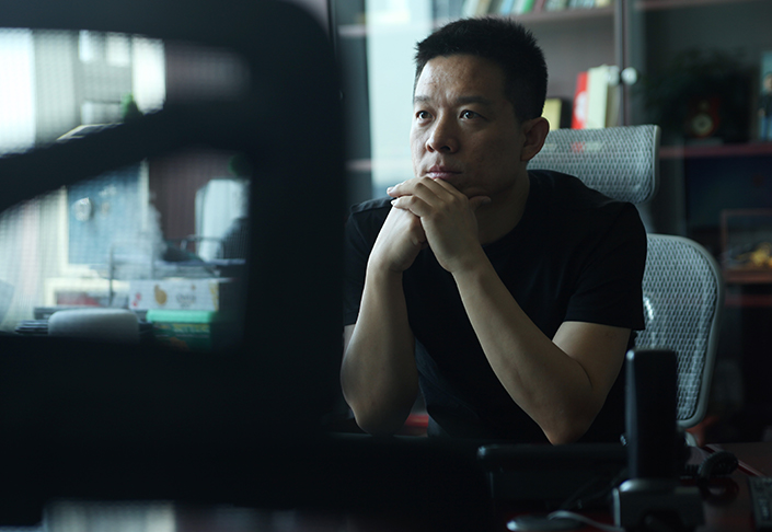 Struggling smartphone-maker Coolpad said that the resignation of Jia Yueting (pictured in 2013) from its board took effect on Friday, but did not elaborate on the reasons for his departure. Photo: IC