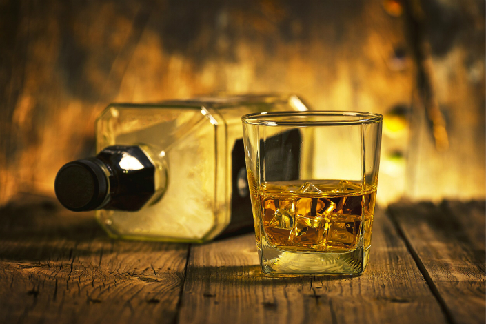 Consumption of methanol, the chemical found in the poisonous whiskey, can cause damage to the nervous system and lead to loss of sight and possibly death, according to medical professionals. Photo: Visual China