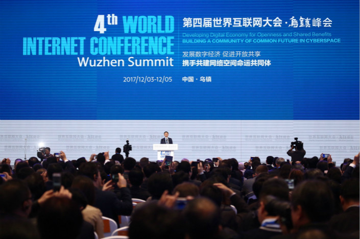 Chinese President Jinping Welcomes Global Internet