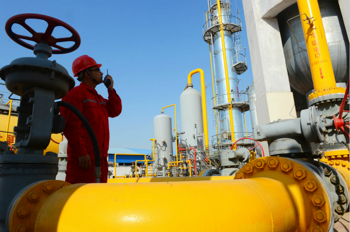 Liquefied natural gas prices have doubled in some regions over the past three months. One Xinjiang Uyghur autonomous region supplier had tripled the price to 6,300 yuan ($952) per ton by Sunday from early September. Photo: Visual China