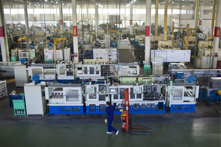 Wanxiang Group (pictured is one of the company's factories in Zhejiang province) announced that it had been chosen as GM China's domestic battery supplier, but this announcement was quickly taken down. GM China said it is still on the hunt for Chinese battery suppliers. Photo: Visual China