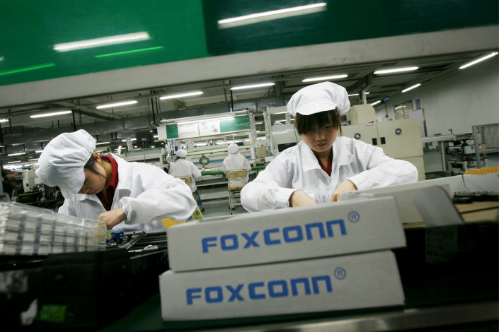 Industry watchers worry about what the high cost of producing TV panels and the rise of alternative OLED display technology will mean for Foxconn, and whether 8K, rather than augmented reality or virtual reality, really is the future of display technology. Photo: Visual China