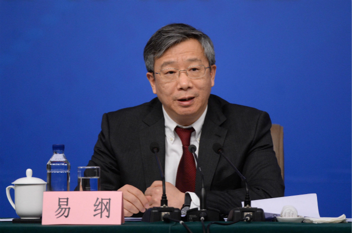 People's Bank of China Vice Governor Yi Gang (pictured) stressed that the negative list doesn't spare firms from security scrutiny, and if companies enter into industries related to national security, such scrutiny is unavoidable. Photo: Visual China