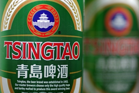 Tsingtao operates more than 60 breweries across China and is sold in more than 100 countries. Photo: Visual China