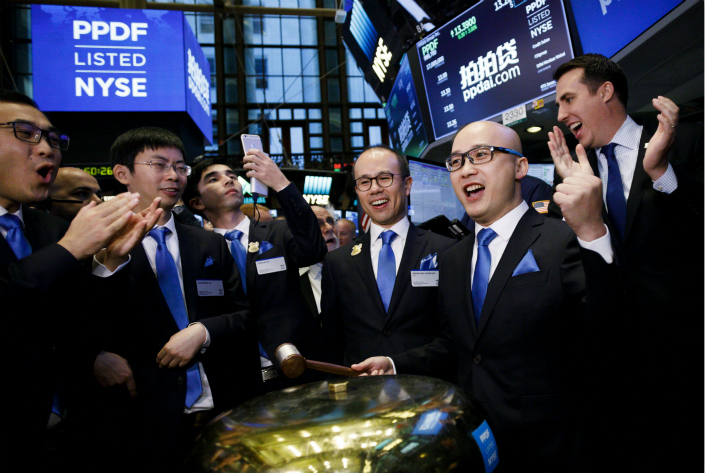 Despite the immediate advantages of listing overseas for Chinese companies such as peer-to-peer lender Ppdai Inc., which had its initial public offering in New York on Nov. 10, some have come to learn that the costs of maintaining an offshore listing are often higher than they might at first seem. Photo: IC