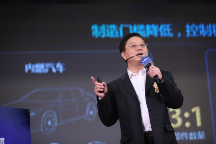Baidu Inc. is asking for 50 million yuan ($7.6 million) and demanding that a company founded by ex-Baidu executive Wang Jin cease using Baidu secrets to compete in the self-driving vehicle sector. Photo: Visual China