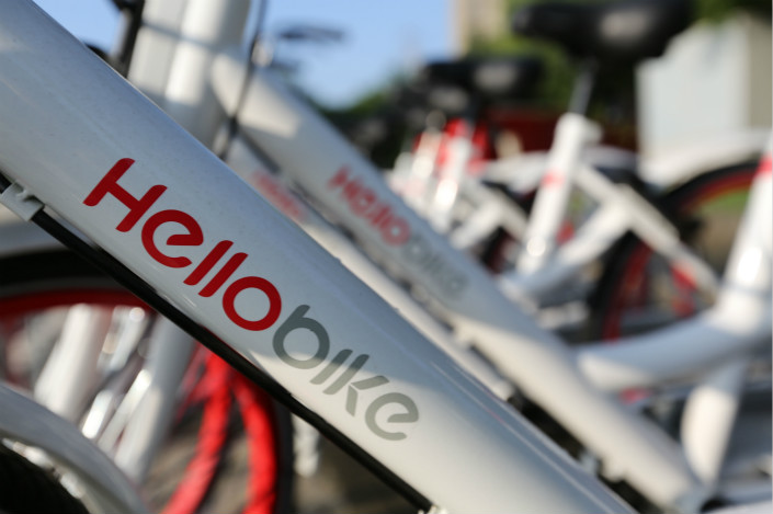 A new multimillion-dollar investment in Hellobike has firmly established the bike-sharing company as the No. 3 player in an industry that many assumed would be an Ofo-Mobike duopoly. Photo: IC