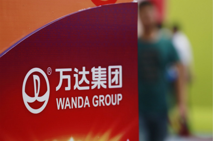 Wanda dipped its toes into China's overcrowded e-commerce sector a few years ago, but has never turned a profit since it was unable to wrestle market share off established giants such as Alibaba and JD.com. Photo: Visual China
