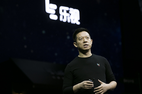 LeEco founder Jia Yueting (pictured) has sold 9.7 billion yuan worth of the company's shares, and has taken out 6.9 billion yuan in loans backed by shares he had pledged, his wife said recently on social media. Photo: Visual China
