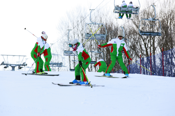 Mao Zhenhua has lost 100 million yuan ($15.3 million) annually since his company took a controlling stake in the Yabuli Ski and Tourism Resort (pictured) in 2010, according to a close associate. Photo: Visual China