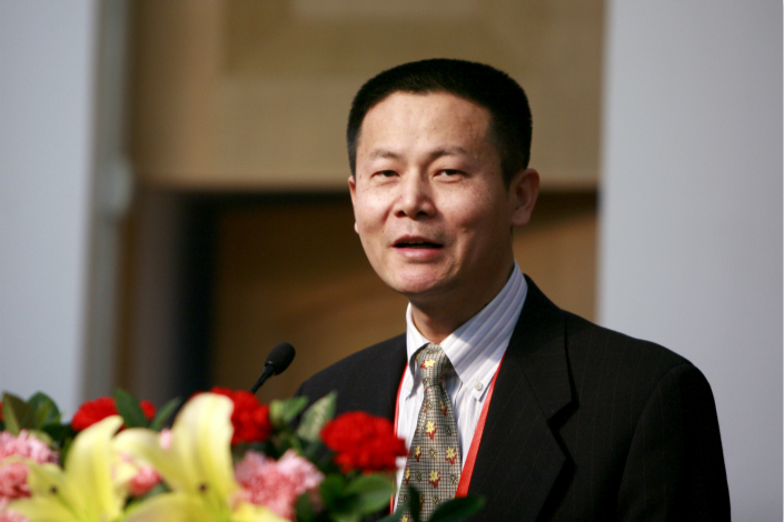 The China Securities Regulatory Commission, which is responsible for appointing the head of the stock exchange, hasn't made an announcement about Wu Qing's official position. Photo: Visual China