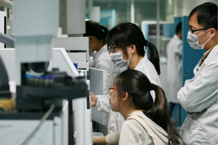 Jiangsu Hengrui Medicine Co. Ltd. warned in itsThursday statement that the skin disease drug it has licensed to Arcutis Pharmaceuticals Inc. is still in development, which takes a long time and isn't always successful. Photo: IC