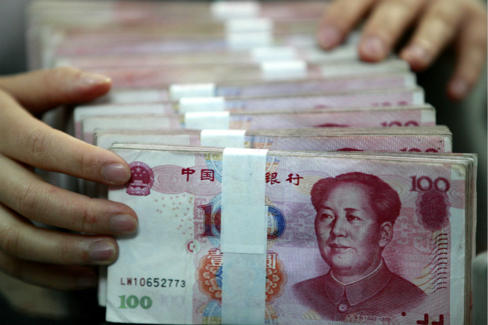 The use of the yuan in cross-border payments has fallen in recent years as fears of depreciation and capital controls limited the use of the currency. Photo: IC