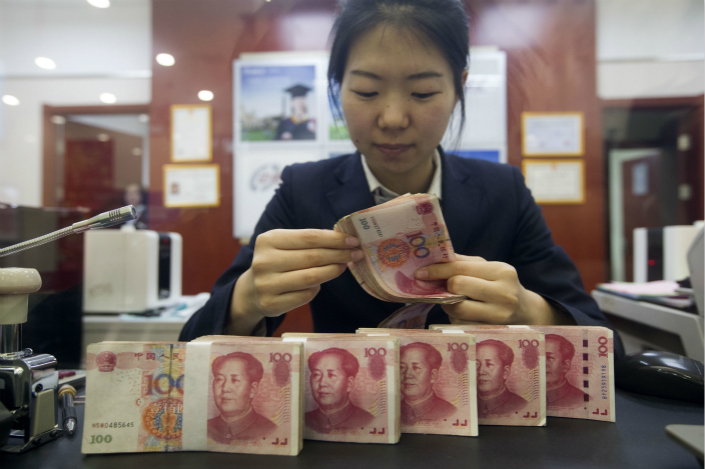 A Bloomberg News report that the People's Bank of China told banks to suspend the use of the