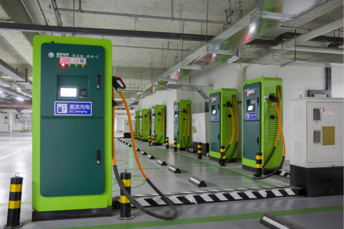 Electric Vehicle Charging Stations >> China S Electric Vehicle Charging Stations Idle 85 Of Time Caixin