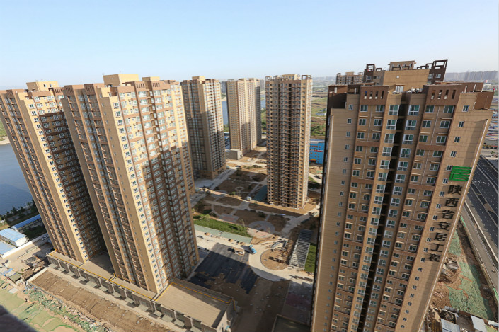 Shangzhuang village is home to the largest public rental housing estate in Xi'an, Shaanxi province. As a financial instrument, the REIT has helped accelerate urban growth in many countries, including the U.S. and India. The global market value of REIT products has grown to an estimated $1.8 trillion. Photo: VCG