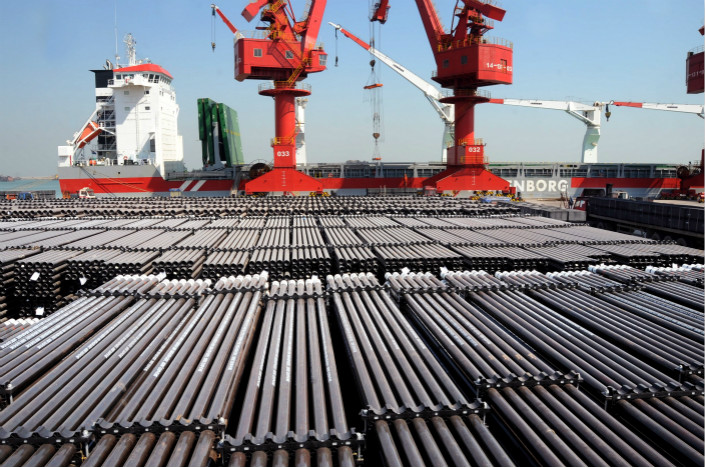 China's industrial companies earned a combined 7.52 trillion yuan ($1.18 trillion) in profit in 2017, led by large earnings increases from companies that smelt and process iron and steel. Photo: IC