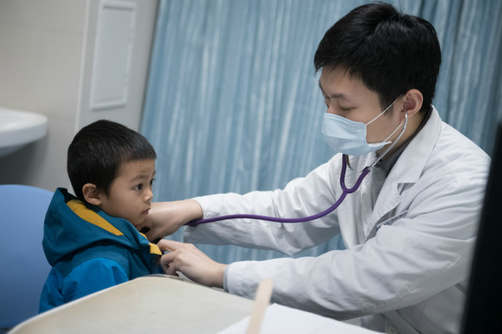 Doctors and pharmacists in China have raised concerns about Pidotimod, an immunostimulant widely prescribed to Chinese children. The drug was developed by Swiss pharmaceutical firm Polichem. Photo: VCG