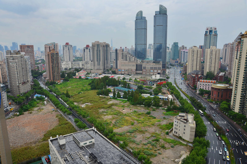 The Shanghai office of the China Banking Regulatory Commission has told banks to scrutinize acquisition loans by property developers to make sure they are being used properly. Photo: Visual China