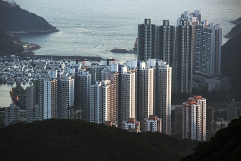 A median income household in Hong Kong needs to spend 19.4 years without any other expenditure to afford a home, making the city the least affordable housing market in the world, said Demographia. Photo: Visual China