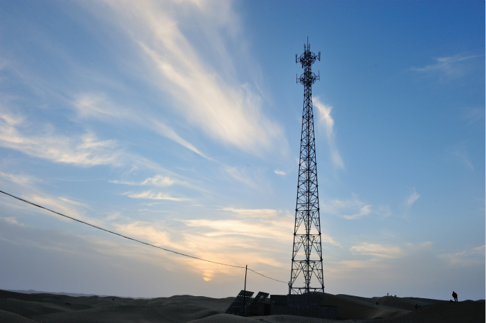 Wireless Carriers Connect With Tower Operator - Caixin Global