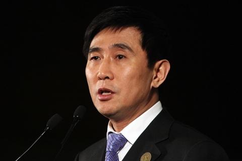 Former Chairman of Peking University Founder Group Co., Wei Xin. Photo: VCG