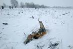 一架载有71人的民航客机在莫斯科州坠毁