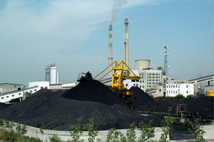Coal is stored at a power plant in Anhui province.  On Jan. 30, the coal inventory at six major power companies including Huaneng Power were down to only 11 days' worth of coal. Usually, power companies keep at least 15 days' supply of coal to maintain a secure inventory. Photo: VCG