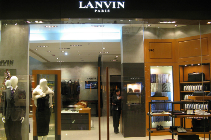 French couture house Lanvin is the latest luxury asset to be added to Chinese investment giant Fosun International's fashion unit, which has recently been set up to manage the company's expanding portfolio of fashion brands. Photo: VCG