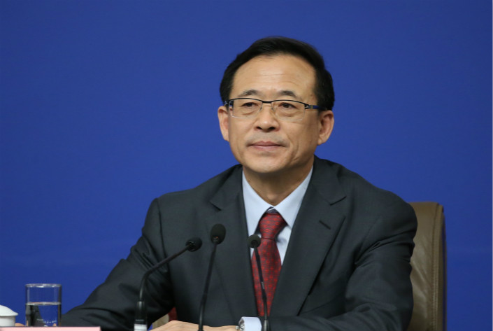 China Securities Regulatory Commission Chairman Liu Shiyu says that preparations for planned reforms to the country's initial public offering system needs to be extended to 2020 because many issues still need to be resolved. Photo: VCG