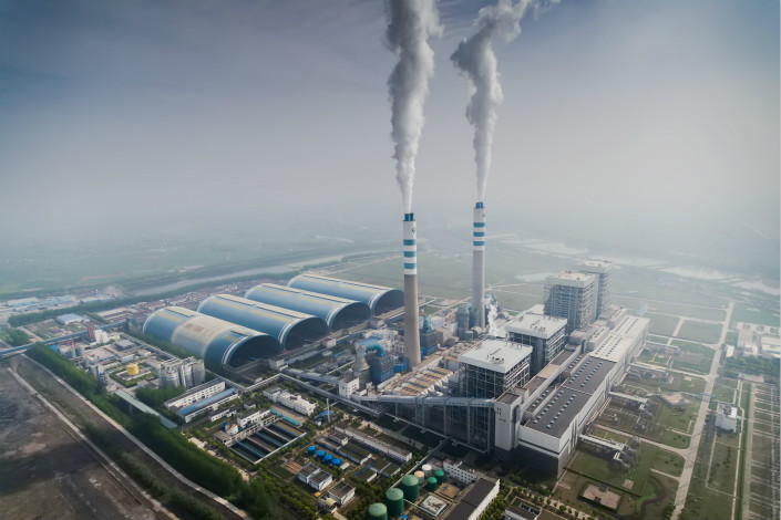 A GD Power Development Company power plant in Taizhou, Jiangzu province. GD Power and China Shenhua Energy's parent companies are in the process of merging, which will create the world's largest power company. Photo: VCG