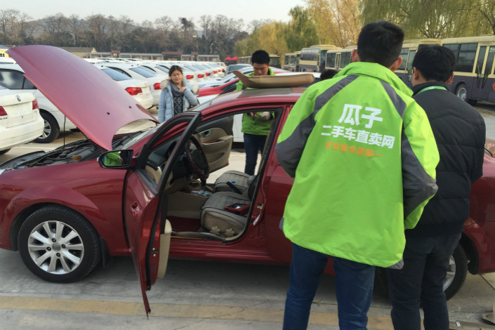 Online car-trading platform Chehaoduo said it will use the money it raised in its latest round of fundraising to upgrade technology, beef up marketing campaigns and open new brick-and-mortar shops. Photo: IC