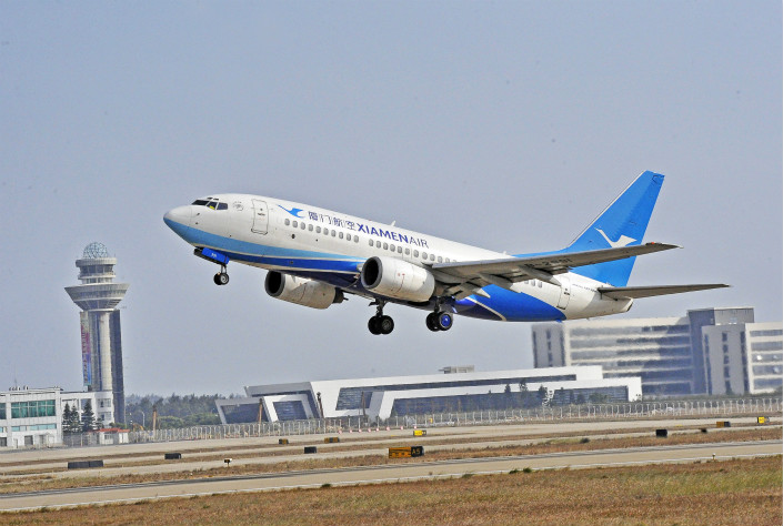China Express's listing announcement comes as the country's other regional airlines, such as Xiamen Airlines, have refocused on the long-distance market. Photo: VCG