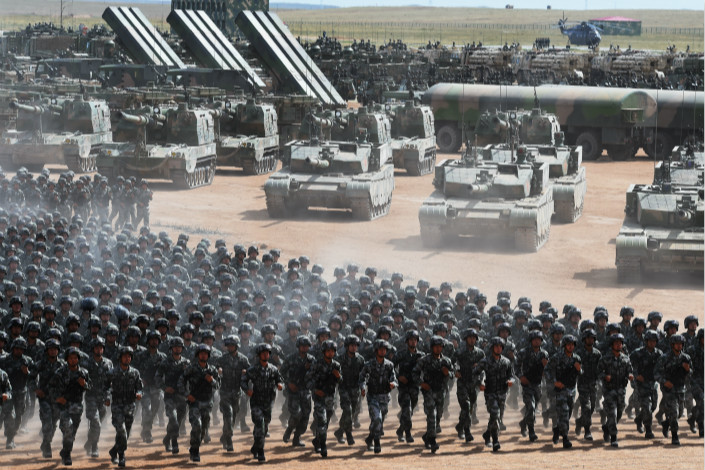 China increases defence budget by 8.1%