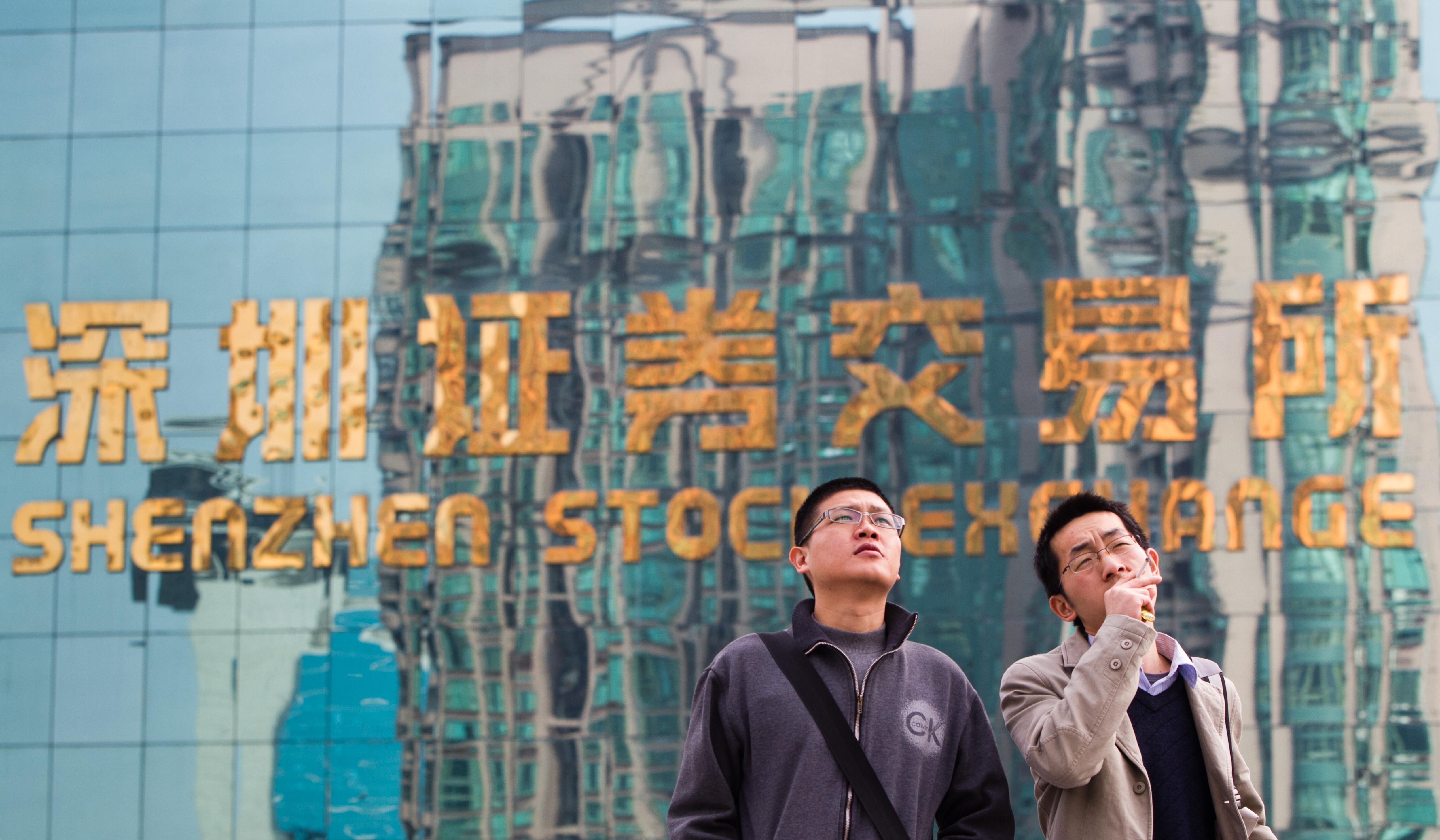 Shenzhen Stock Exchange. Photo: VCG