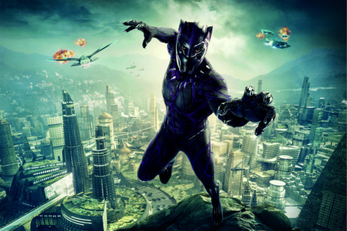 "Superhero blockbuster ""Black Panther"" has raked in more than 430 million yuan at the China box office since it opened in the country on Friday. Photo: VCG"