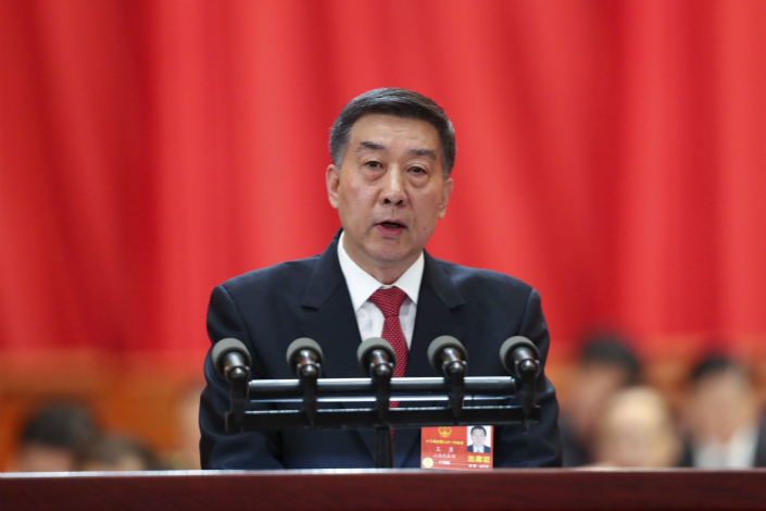 """State Councilor Wang Yong said that plans call for the National Health and Family Planning Commission to be replaced by the National Health Commission, which will shift its focus from """"treating illnesses to improving people's health."""" Photo: China News"""