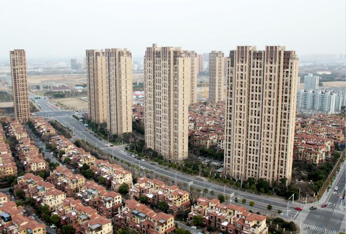 Apartment buildings in Changzhou, Jiangsu province. Photo: VCG