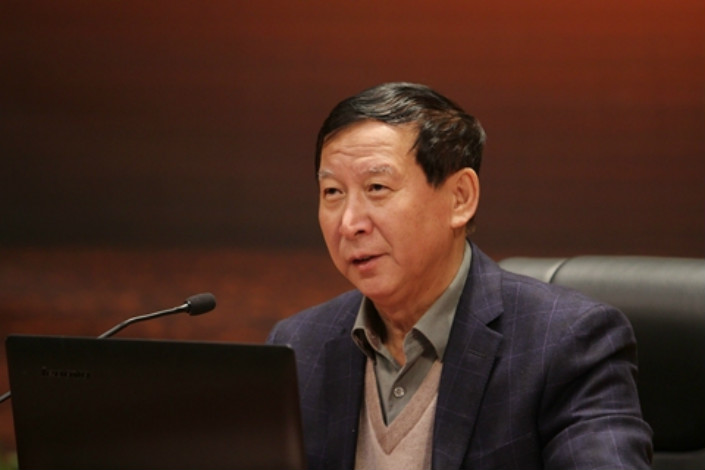 Yu Hongjun, former deputy minister of the International Department under the communist party's Central Committee. Photo: VCG