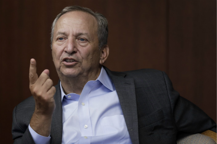 Lawrence Summers, a former U.S. Treasury Secretary pictured here speaking at a 2016 workshop in Tokyo, warned of 'surly nationalism and anger' in the U.S. and Europe at the China Development Forum in Beijing Saturday. Photo: VCG