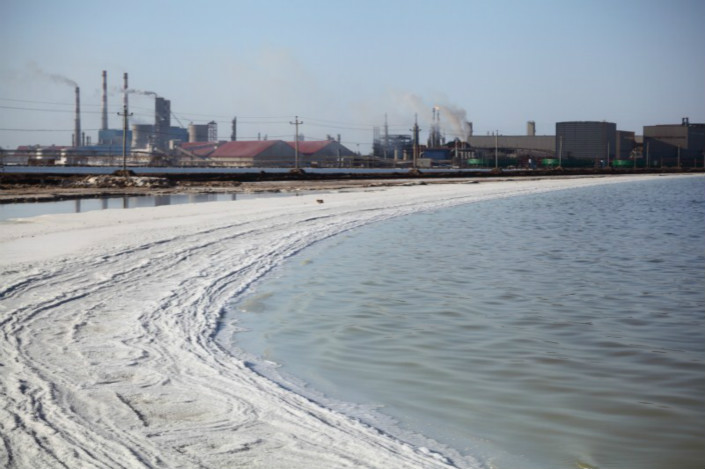 Qinghai province's Qarhan Salt Lake is home to one of China's biggest reserves of lithium. Photo: IC