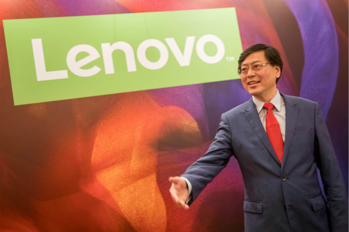 Yang Yuanqing, Lenovo Group Ltd. chairman and CEO. Photo: VCG