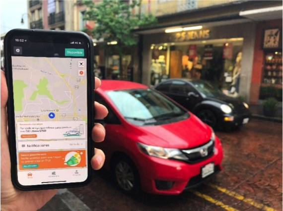 Didi Chuxing brings its own app-based ride-hailing service to Mexico, the first such expansion outside Asia. Photo: Didi