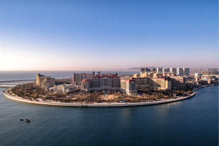 Dalian Wanda's new movie-making studios occupy an area of 166 hectares. Photo: Wanda