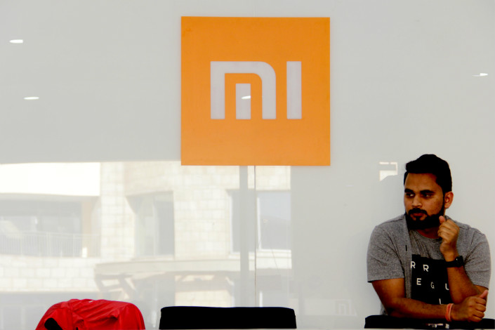 A Xiaomi Corp. service center is seen in Gurugram, Haryana state, India, on Feb. 26. Photo: IC